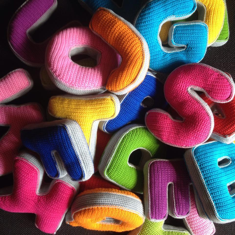 26 Crochet Letter Patterns - The Funky Stitch